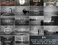 Free 84 Elegant Vintage Insignia Logo Templates
