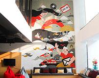 D.LAB Mural