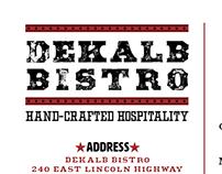 Restaurant Identity—Dekalb Bistro