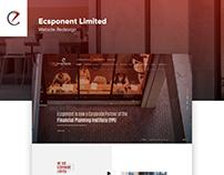 Ecsponent Limited Website