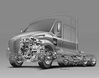 Semi-truck project