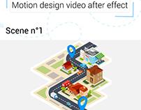 scénario vidéo - motion design camion privé