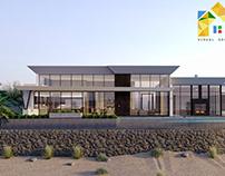3D Rendering Villa Exterior Design