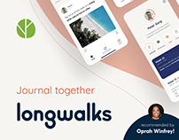 Longwalks - iOS Journal App - featured by Oprah Winfrey