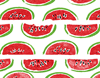 Watermelon Wrapping Paper Designs