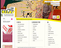 Website Creative Direction   The Project Relay