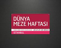 DÜNYA MEZE HAFTASI- World Mezze Week