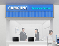 Samsung Service Center @Time Square, Dubai 2015