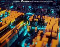 Circuit panel sci-fi