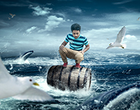 Dangerous Sea Photo manipulation Tutorial