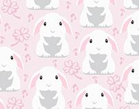 Coelhinho rosa
