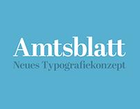 Amtsblatt Zug – Entwurf