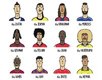Football Haircuts