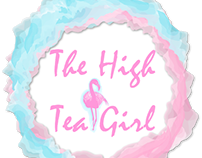 The high tea girl logo