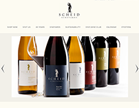 Scheid Vineyards Website