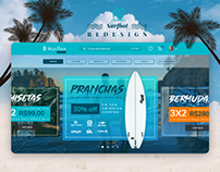 Surf school and store redesign
