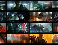 The Surge | CG Trailer | Colour script