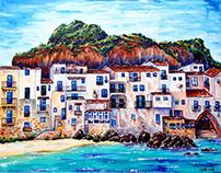 Palermo, Sicily Acrylic