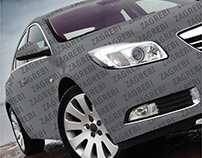 Grawe Car Insurance Poster: Scratchable car paint