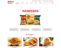 Haldiram Prabhuji Website