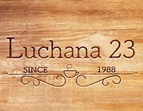 Web y logo para Luchana 23