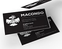 Macondo - Business Cards & Menu