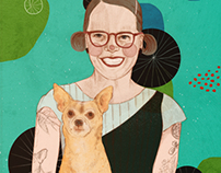 Portrait of Lisa Congdon
