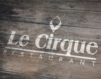 Le Cirque Branding [2013]