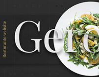 GERONIMO • RESTAURANT • CORPORATE • SITE