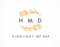 Highlight My Day // Logo Design
