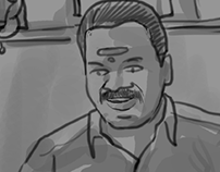 Storyboard for Director VENKAT PRABHU'S Short film.