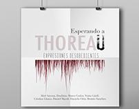 """Catálogo y cartelería exposición: """"Esperando a Thoreau"""""""
