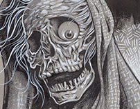 Creepshow Poster Illustration