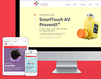 Smartinhaler Website