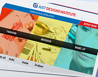 Just Design Institute - Campaign page