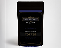 KP Toffee Brand&Identity - Product Label
