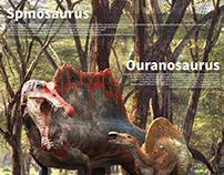 Spinosaurus&Ouranosaurus .making