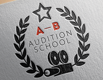 A-B Audition school - Logo Design