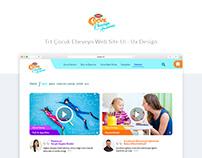 Trt Çocuk Ebeveyn Web Site ui-ux
