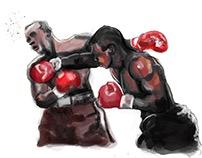 Sports Illustration-Mike Tyson