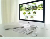 Сайт для студии ландшафтного дизайна