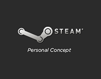 Steam redesign - Personal Concept