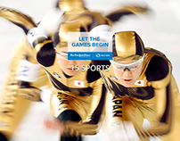 Winter Olympics 2014 API New York Times / Reuters