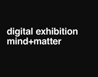 mind+matter – virtual exhibition and website