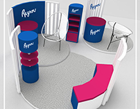 Regroe Booth Activation Design
