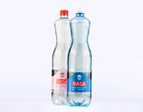 Mineral water bottle. 2018