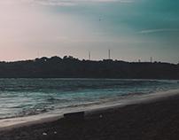 Bonifacio and the sea.