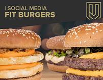 Social Media - FitBurgers
