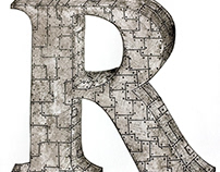 Rivets & Rust - Drop Cap Study