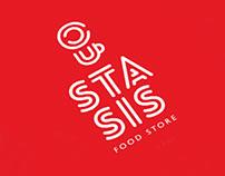 Stasis food store. Branding